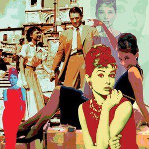 """Audrey"" - Audrey Hepburn Digital Print Signed"
